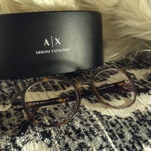 ARMANI - glasses & case